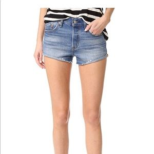 Levi's 501 shorts Blue Explorer, size 27
